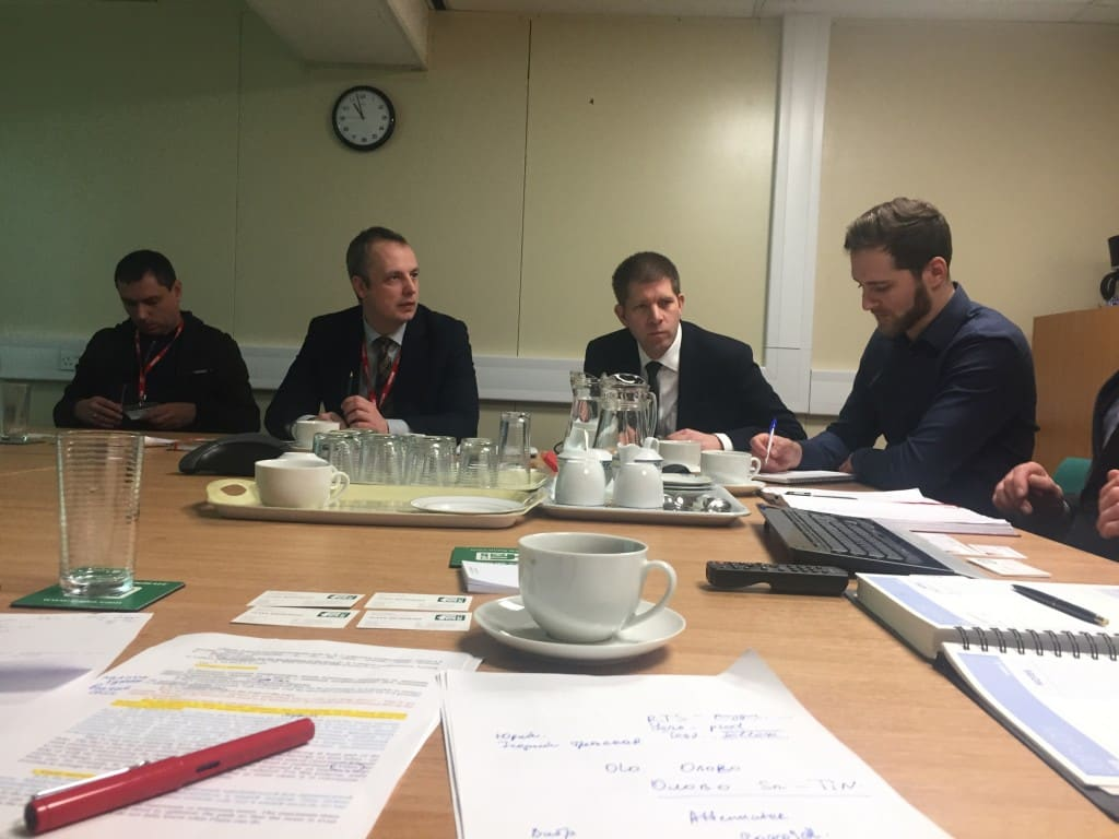 Cornwall based British company Flann Microwave meets Russian colleagues from TestPribor (Тестприбор) Moscow, Russia to explore business opportunity