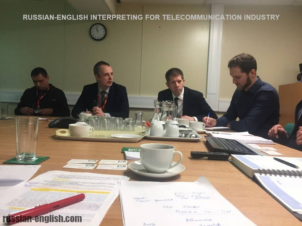 RUSSIAN-ENGLISH INTERPRETING FOR TELECOMMUNICATION INDUSTRY