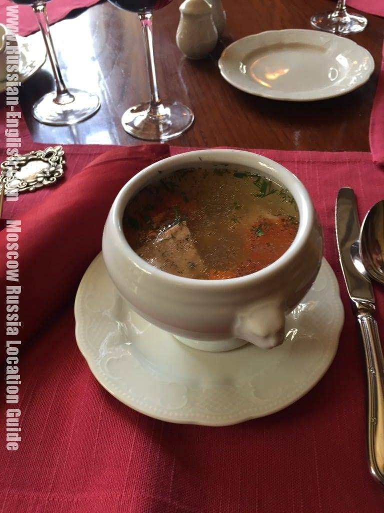 Russian fish soup ukha